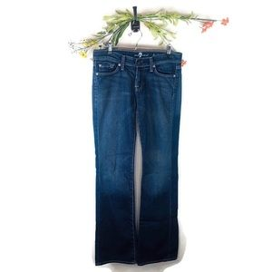 7 For All Mankind | Bootcut Blue Jeans Size 26 EUC